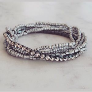 Jewelry - Black Friday offer!! Stretch bracelet silver